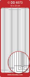 Stickervel goud rand DD6573 (Locatie: K215)
