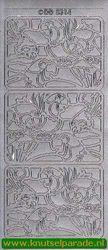 Stickervel zilver dieren DD 5314 (Locatie: F037 )