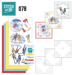 Stitch and Do 78 Wintersport STDO078