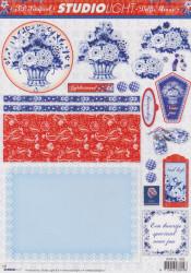 Studio Light delfts blauw STAPSL1085 (Locatie: 5568)