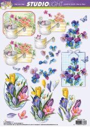 Studio Light knipvel bloemen STAP SL 1019 (Locatie: 2557)