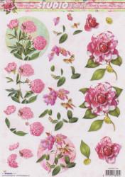 Studio Light knipvel bloemen STAPSL1144 (Locatie: 0522)