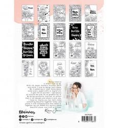 Studio Light Watercoloring pad A5 Karin Joan Blooming collection nr.01 20 vel WCPKJ01