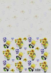 Voorbeeldkaarten knipvel bijtjes 8909 (Locatie: 1235)
