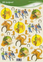 Voorbeeldkaarten knipvel country 2238 (Locatie: 6849)