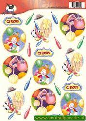 Voorbeeldkaarten merel design circus 2384 (Locatie: 6630)