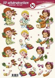 Voorbeeldkaarten stansvel kinderen 2661 PO (Locatie: 6559)