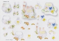 Wekabo knipvel bloemen 529 (Locatie: 5924)