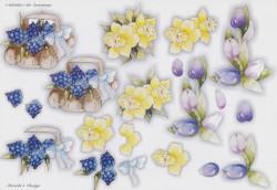 Wekabo knipvel bloemen 651 (Locatie: 2521)