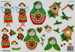 Wekabo knipvel kerstmis 761 (Locatie: 6103)