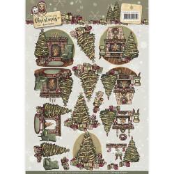Yvonne Creations knipvel kerstmis CD10957 (Locatie: 2590)