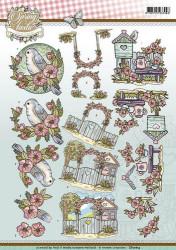 Yvonne Creations knipvel spring fantastic CD10814 (Locatie: 5517)