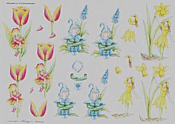 Wekabo knipvel bloemen nr. 714 (Locatie: 626)