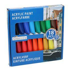 Acrylverf 18-Delig 52794 (Locatie: 3RA )