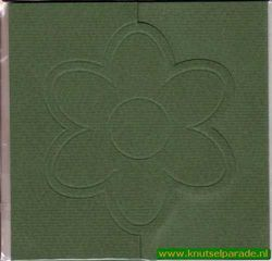 Lomiac kaart d. groen 3 stuks nr. LC3141 (Locatie: Y021 )