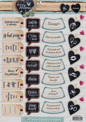 Studio Light stansvel Love & Home Labels EASYLH512 (Locatie: 4733)