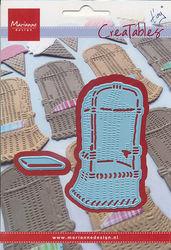 Marianne Design snij- en embosmal strandstoel LR0364 (Locatie: V004)