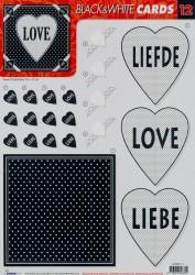 Studio Light cards knipvel nr. 12 (Locatie: 4626)