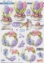 Le Suh knipvel bloemen-hyacinthkrans 8215396 (Locatie: 2780)