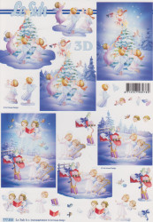 Le Suh knipvel kerst 777 350 (Locatie: 1203)