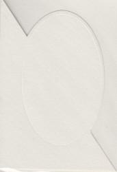 3x creme, dubbele kaart, 3x creme envelop (Locatie: gg005)