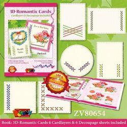 Doodey 3D romantic cards ZV80654 (Locatie: 2336)