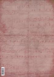Achtergrond papier terelantijntje oud roze 3348 (Locatie: 4713)