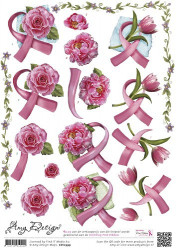 Amy Design knipvel Pink Ribbon CD10399 (Locatie: 2762)