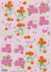 Anne Design knipvel bloemen 2485 (Locatie: 1241)