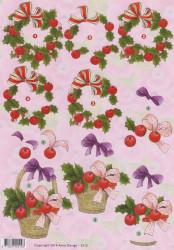Anne Design knipvel kerst 2512 (Locatie: 2829)