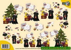 Card Deco knipvel kerst CW10044 (Locatie: 4234)