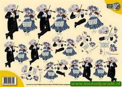 Creddy World knipvel muziek CW10036 (Locatie: 6721)