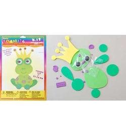 Darice foamies kit frog 1028-74 (Locatie: K3)