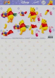 Disney knipvel Winnie the Pooh COMBIPOOH22 (Locatie: 1240)