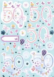 Docrafts Anita's stansvel 50e verjaardag 169616 (Locatie: GRVE)