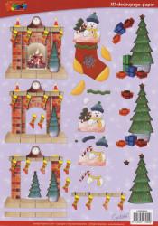 Doodey knipvel kerst DV92502 (Locatie: 4317)