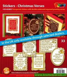 Doodey stickers set christmas verses GS 652833 (Locatie: 1RB5 )