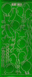 Doodey stickervel groen holografisch XP6414 (Locatie: g314)