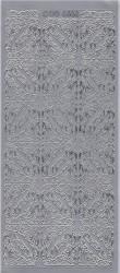 Doodey stickervel hoekjes zilver DD6566 (Locatie: t081)