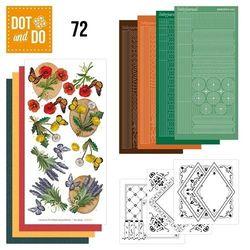Dot and Do Wilde Bloemen DODO072 (Locatie: 1RA7 )