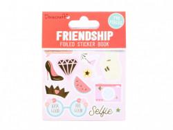 Dovecraft vriendschap stickerboek, 8 vel (Locatie:)