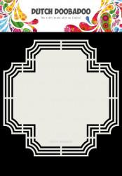 Dutch Doobadoo Dutch Shape Art Cross 20,7x20,7 cm 470.713.179 (Locatie: 2726)