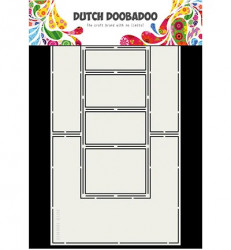Dutch Doobadoo Fold Card art Double side stencil A4 470.713.706 (Locatie: 4739)