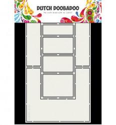Dutch Doobadoo Fold Card art Double side stencil A4 470.713.706 (Locatie: 4739)