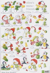 Eline's snowfriends knipvel AK0046 (Lovatie: 1505)