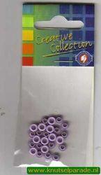 Eyelets lila 25 stuks 20407/05 (Locatie: 5RC1 )