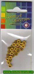 Eyelets lindegroen 25 stuks nr. 20407/28 (Locatie: 5RC1 )