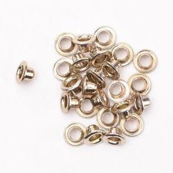 Eyelets metallic nickel 25 stuks nr. 20406 (Locatie: 5RC1 )