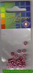 Eyelets metallic roze 25 stuks nr. 20413/08 (Locatie: 5RC1 )