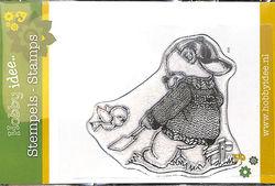 Hobby Idee Clear Stamp Beer met schep Hi-stamp 0030 (Locatie: A373)